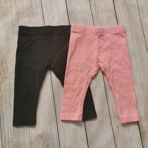💜3/$10💜 Set of 2 Baby Leggings